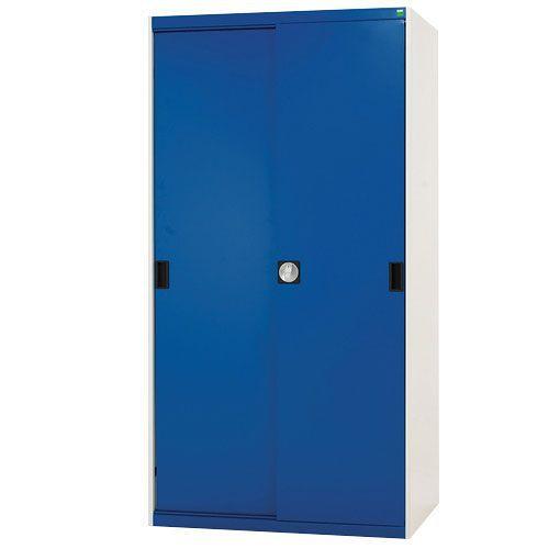 Bott Cubio Sliding Door Metal Storage Cabinet HxW 2000x1300mm
