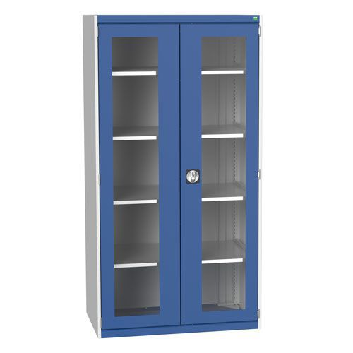 Bott Cubio Metal Cabinet With Vision Doors 2000x1050mm