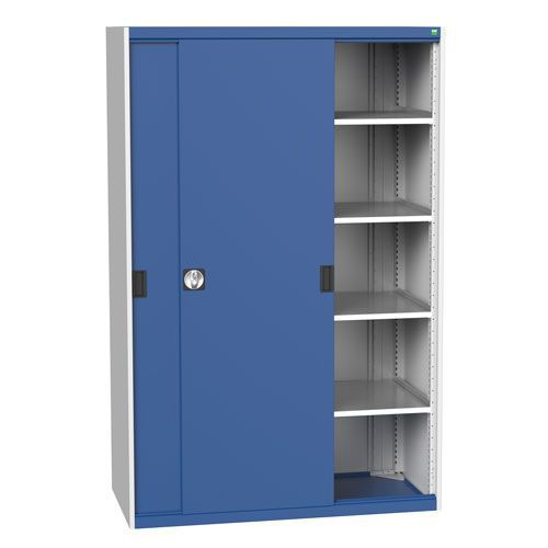 Bott Cubio Sliding Door Metal Storage Cabinet HxW 2000x1300mm