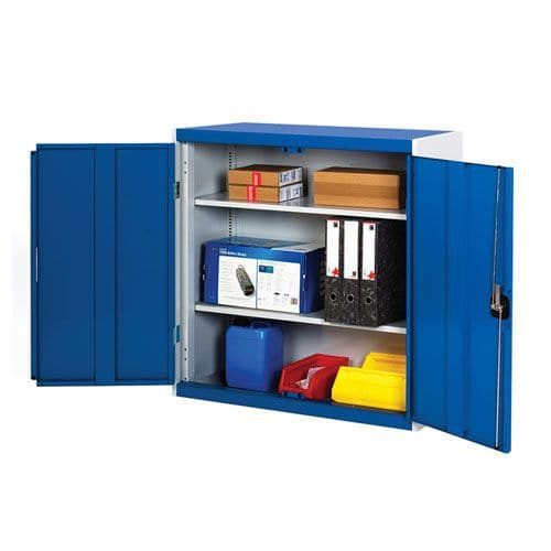 Bott Cubio Metal Storage Cabinet With 2 Shelves 1000x800mm