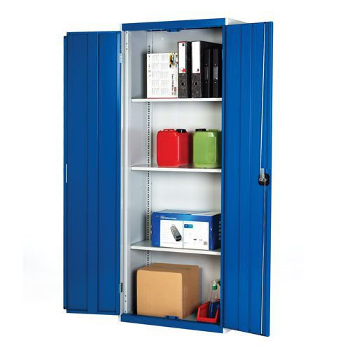 Bott Cubio Metal Storage Cabinet With 3 Shelves 2000x800mm