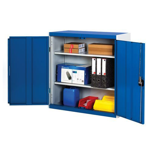 Bott Cubio Metal Storage Cabinet With 2 Shelves 1000x1050mm