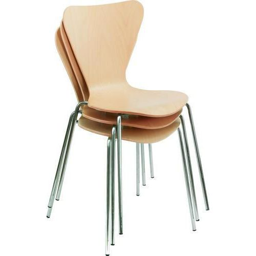 Harvard Beech Stackable Meeting Room Chair