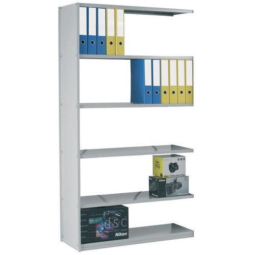 Stormor Solo Single Skin Steel Shelving - Extension Bay