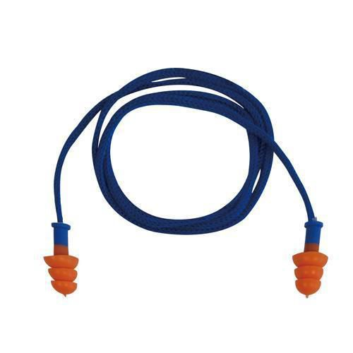 Thermoplastic Ear Plugs with Cord - Pack of 10