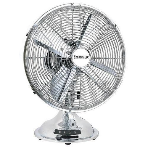 12 Inch Chrome Desk Fan