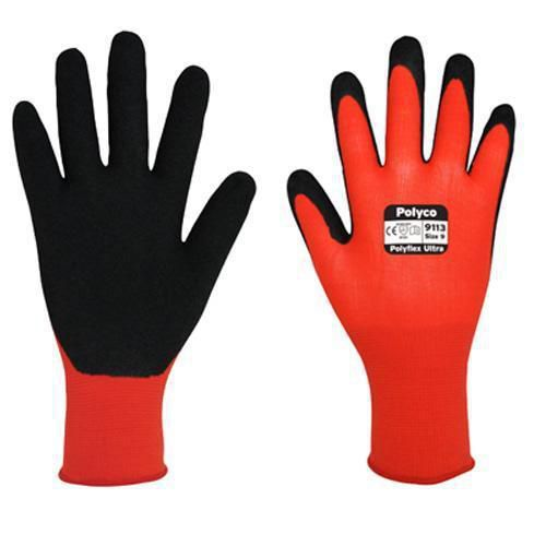 Polyflex U La Abrasion Resistant Gloves - Pack of 10