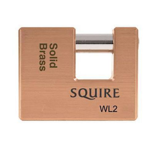 Squire Brass Shutter Lock - 70mm