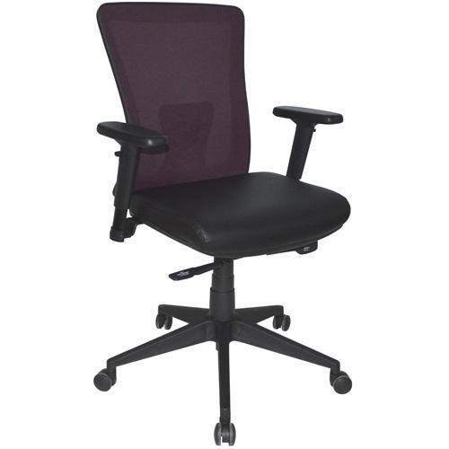 Zenith Mesh Office Chair Purple & Black