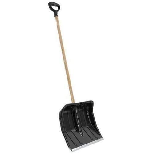 Plastic/Metal Snow Shovel - 460mm Wide