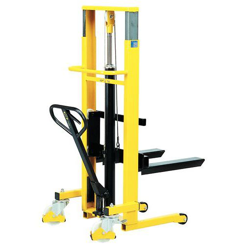 Pallet stacker with telescopic lifting boom - Capacity 250kg