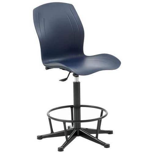 Polypropylene Swivel Draughtsman Chair