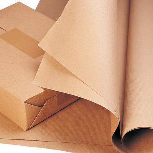 Recycled Brown Wrapping Paper Roll From Kraft