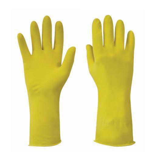 Latex Household Gloves - Pack of 12