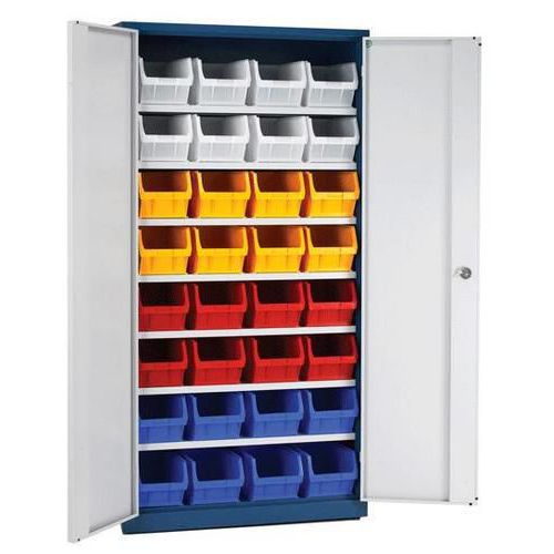 Standard Full Height Cupboards with Bins