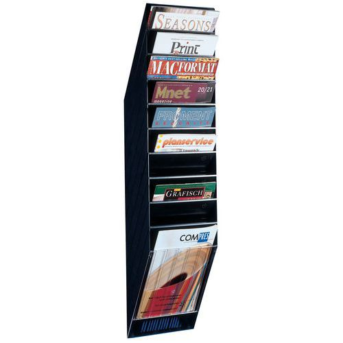Wall display for brochures