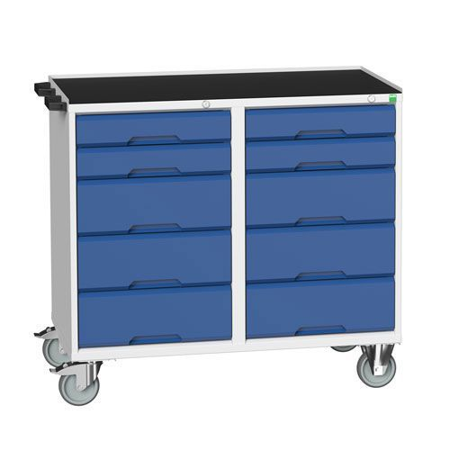 Bott Verso Mobile Workbench with 10 Drawers