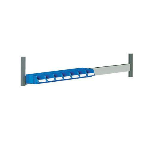 Optional Rail Accessory For Storage Bins