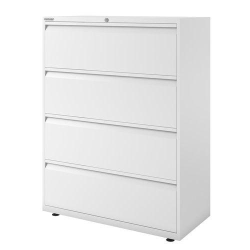 2 Drawer Filing Cabinet Steel Bisley A4 Black Free New 24H Lockable Cour Black