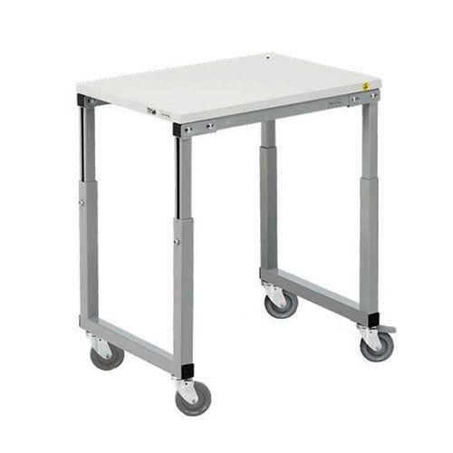 Mobile Workbench with Height Adjustable Capability