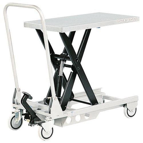 Mobile mini lifting table - Capacity 150 kg