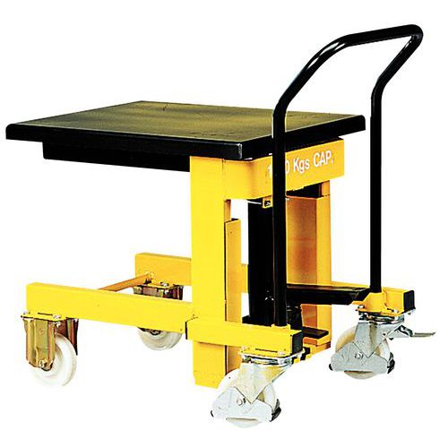 Mobile hydraulic lifting table - Capacity 1000 kg