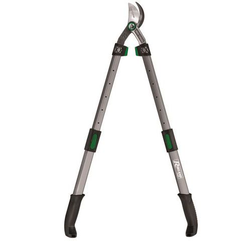 Professional branch loppers with forged blade - Telescopic handle