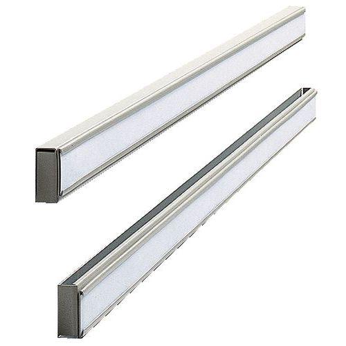 Aluminium wall guide for Nobo planner