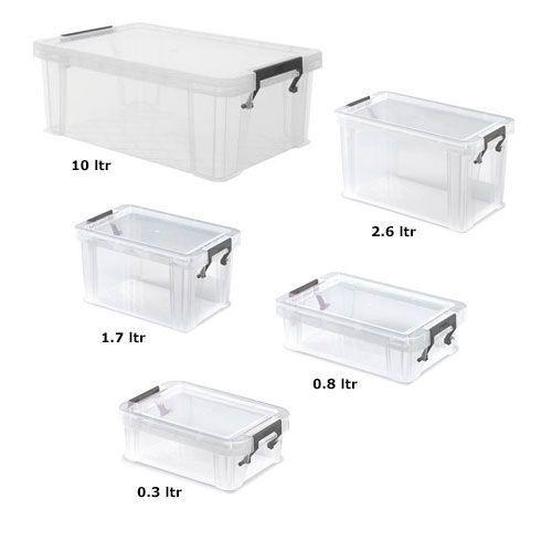 Manutan Five Box Set Offer 10L + 2.6L + 1.7L + 0.8L + 0.3L