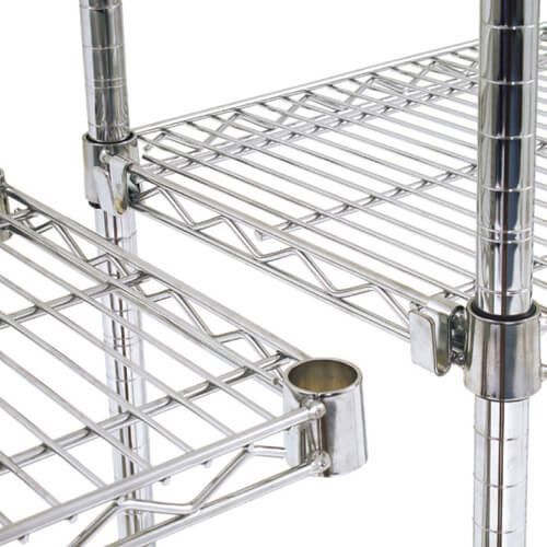Pair of Additional Chrome Shelves (1220w)