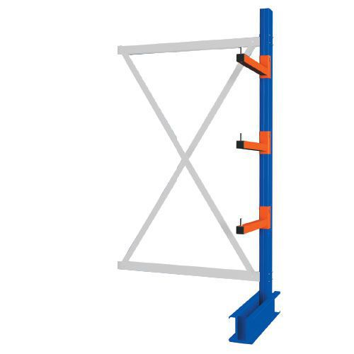 Heavy Duty Double Sided Cantilever Racking - 2000 x 1500 Add-on Bay