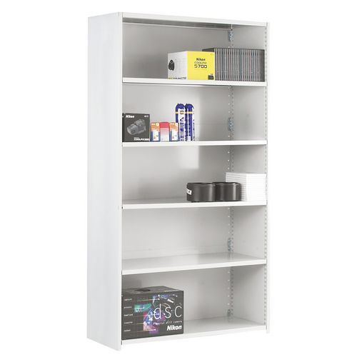 Closed Back Stormor Duo Shelving (1850h x 1000w)