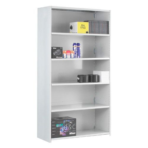 Closed Back Stormor Duo Shelving (2150h x 1250w)