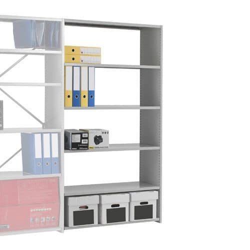 Stormor Duo Shelving Starter Bays (1850h x 900w) With Open Back