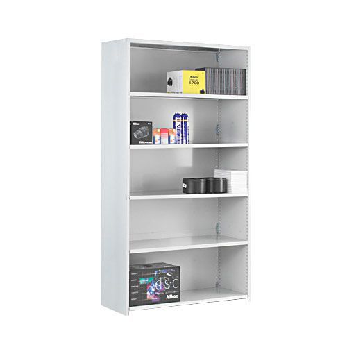 Stormor Solo Shelving Bays (1850h x 1000w) With Closed Back