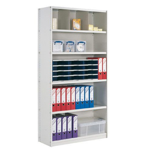 Closed Back Stormor Solo Shelving (2450h x 1000w)