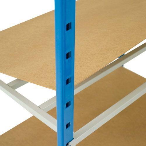 Pack of 5 Hardboard Covers for 1250w Tubular Shelves