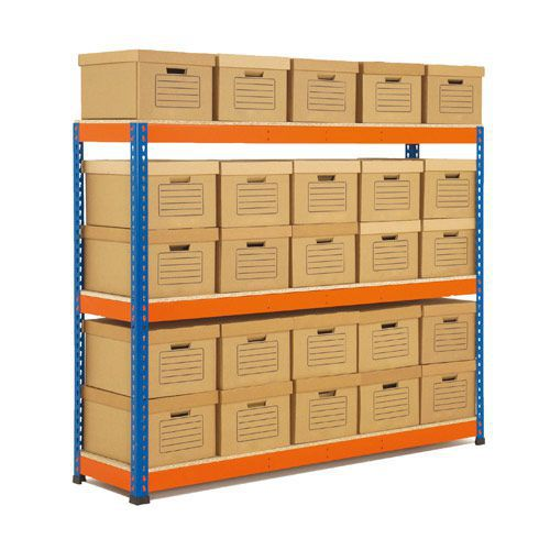 Rapid 1 Double Sided Archive Storage with 50 Boxes