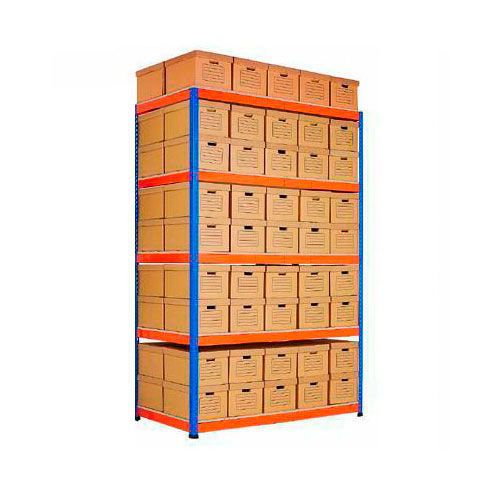Rapid 1 Double Sided Archive Storage with 90 Boxes