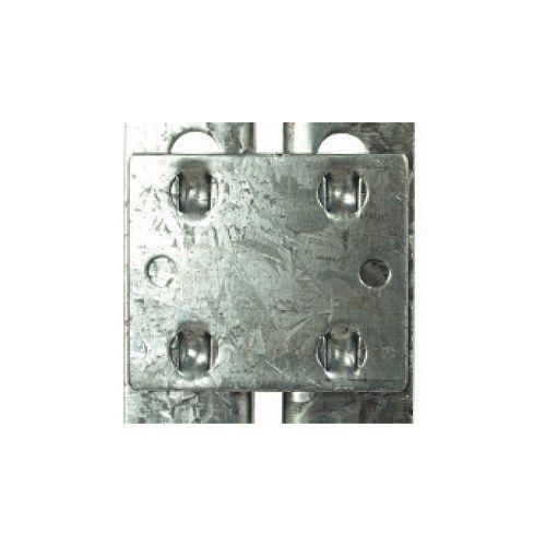 Rapid 1 Galvanized Tie Plates- Pack of 4