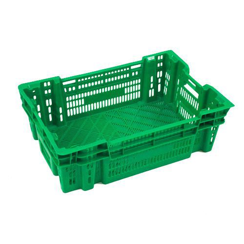 Euro Stacking Crates 34l With Ventilation Key