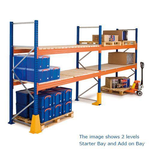 Three Level Pallet Racking Kits (2700w x 1100d)