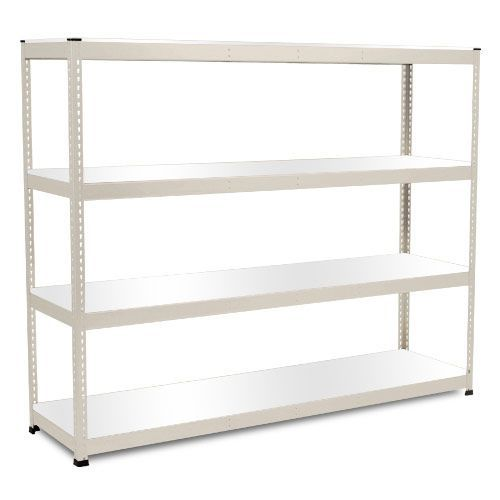 Rapid 1 Heavy Duty Shelving (2440h x 2440w) Grey - 4 Melamine Shelves