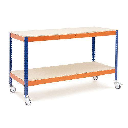 Rapid 1 Mobile Workbench - Chipboard Shelves
