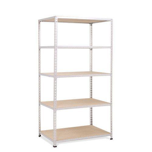 Rapid 2 Shelving (1600h x 915w) Grey - 5 Chipboard Shelves
