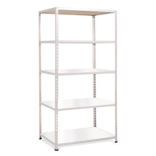 Rapid 2 Shelving (1600h x 915w) Grey - 5 Melamine Shelves
