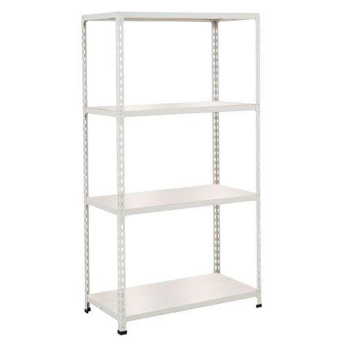 Rapid 2 Shelving (1600h x 915w) Grey - 4 Melamine Shelves