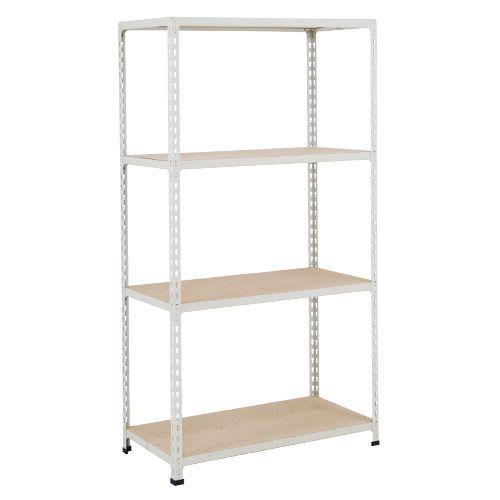 Rapid 2 Shelving (1600h x 1220w) Grey - 4 Chipboard Shelves