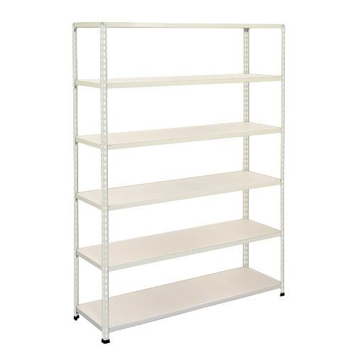 Rapid 2 Shelving (1600h x 1525w) Grey - 6 Melamine Shelves