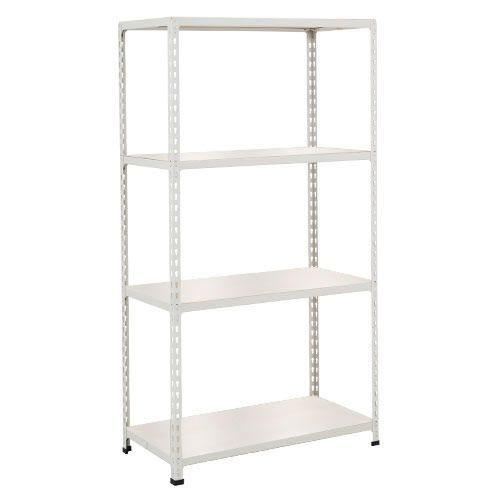 Rapid 2 Shelving (1600h x 1525w) Grey - 4 Melamine Shelves